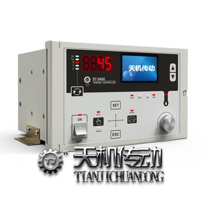 张力控制器如何控制磁粉离合器制动器?